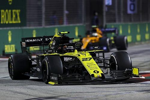 GP de Singapour : les vitesses de pointe