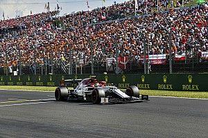 Giovinazzi krijgt gridstraf wegens ophouden van Stroll