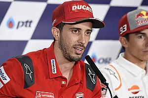 """Dovizioso: """"Deluso da Buriram, ma a Motegi è adatta alla Ducati"""""""