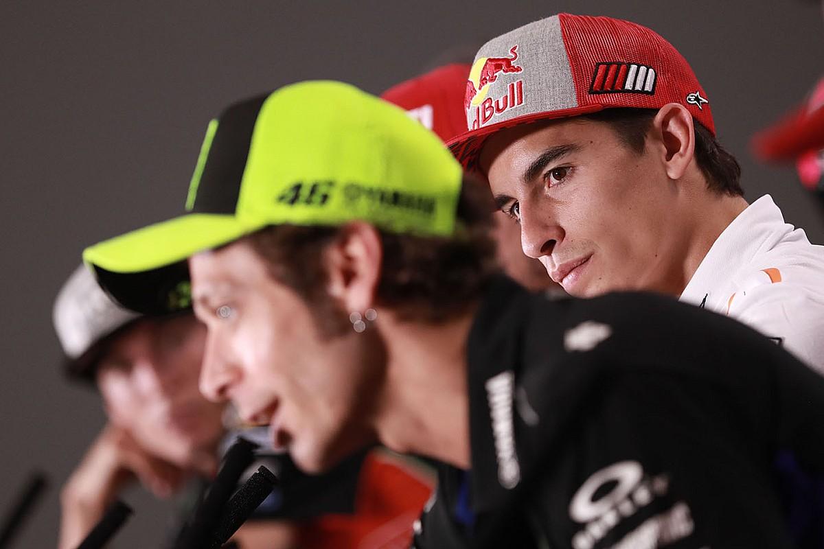 """MotoGP: Rossi diz que Márquez está """"muito próximo da temporada perfeita"""""""