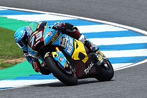 Moto2日本FP2:マルケス弟トップタイム。長島哲太は19番手に沈む