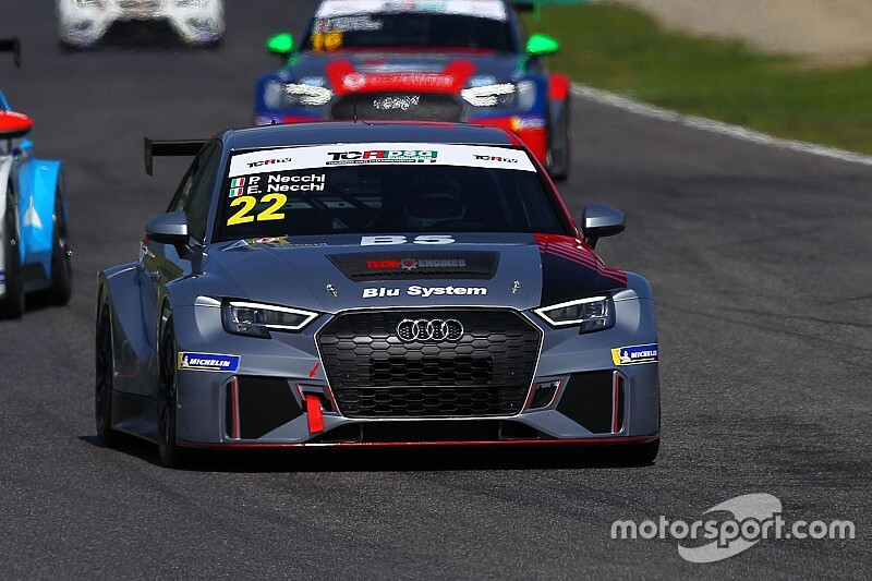 Piero Necchi pronto per TCR Italy e DSG Endurance con l'Audi