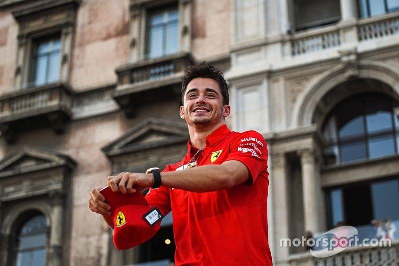 """Leclerc: """"La victoria me quitó un peso de encima"""""""