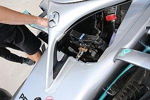 Mercedes: Hamilton con un solo paddle della frizione come Vettel