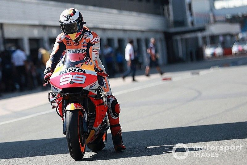 """Lorenzo feels """"out of danger"""" after """"survival"""" British GP"""