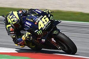 """Rossi: """"El resto nos sacan 10 kilómetros por hora de punta"""""""