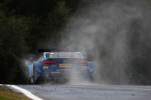«Я ехал в дыму, выхлоп расплавился». Пилот Audi провел гонку на горящей машине