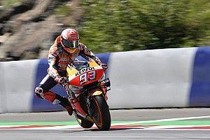 FP3 MotoGP Austria: Marquez tercepat, Rossi amankan Q2