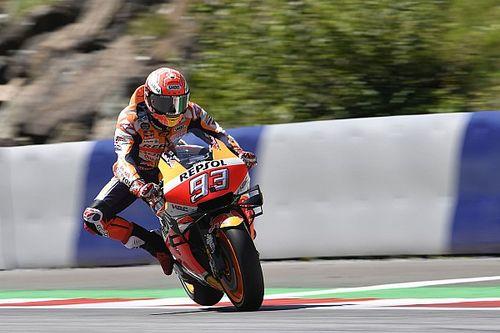 Nieuw Honda-frame brengt Marquez snelste tijd in derde training