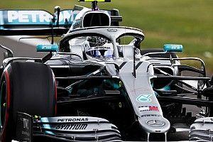 Bottas lidera dobradinha da Mercedes no 2º treino em Silverstone