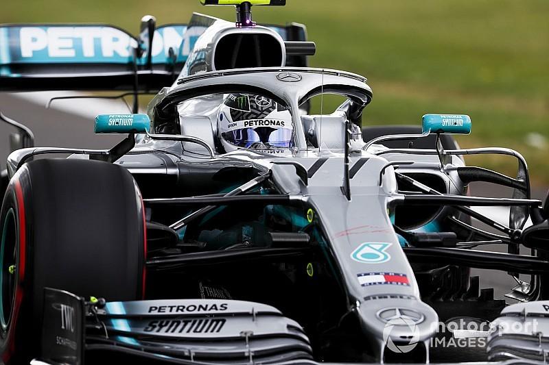 British GP: Bottas leads Mercedes 1-2 in close FP2