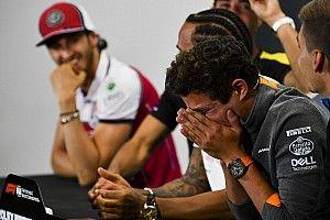 """Norris humoros beszólása Leclerc-nek: """"Elloptad tőlem a csapattársam..."""""""