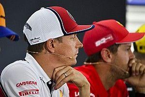 Vettel vajon mit mutogatott Kiminek?