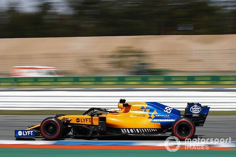 Sainz sobre McLaren: Reagimos e estamos acima do esperado