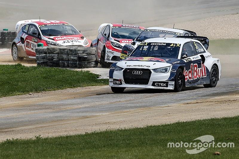 Belgium WRX: Ekstrom leads Loeb after Day 1