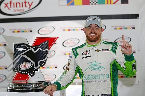 Justin Marks earns maiden win as NASCAR races in the rain