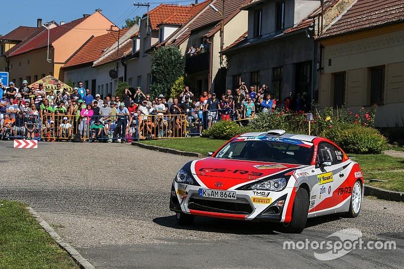 Rossetti e Bottarelli con le Toyota GT86 CS-R3 al Rally Rzeszow
