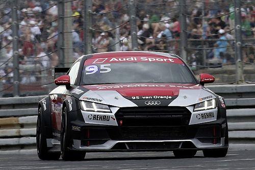 Bernhard van Oranje in Audi Sport TT Cup tijdens DTM Zandvoort