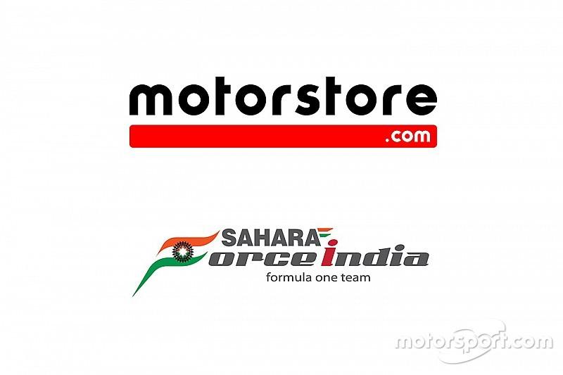 Motorstore.com und Sahara Force India Formel-1-Team geben Partnerschaft beim Internethandel bekannt