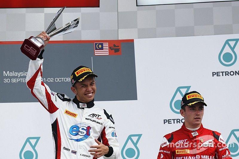 Leclerc quiere ver a Albon en Toro Rosso