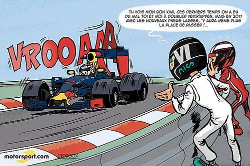 L'humeur de Cirebox - Des pneus plus larges pour Verstappen!