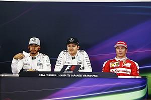Formula 1 Press conference Japanese GP: Post-qualifying press conference
