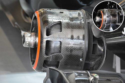 Bite-size tech: McLaren MP4-31 brake duct changes