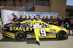 NASCAR Cup Qualifying report Edwards edges Allmendinger for Sonoma pole