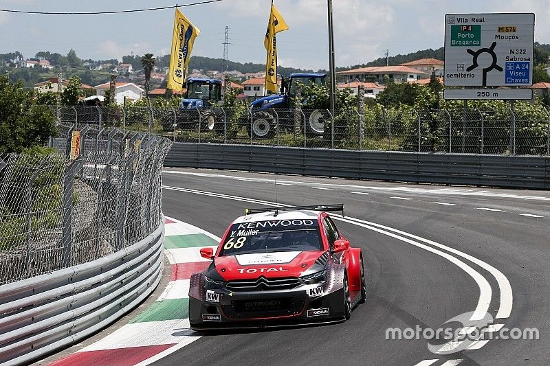 Yvan Muller makes the front row, Citroën win MAC3