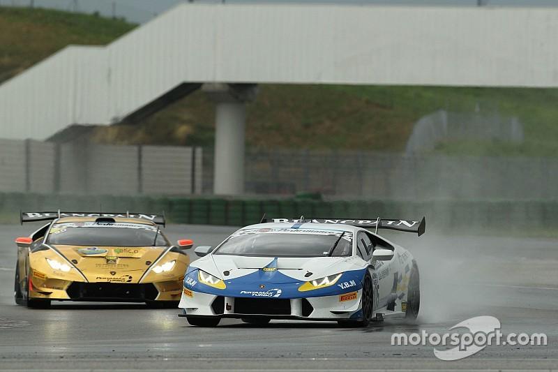 Super GT Cup-GT Cup: Baruch e Liang si impongono sul bagnato in Gara 2