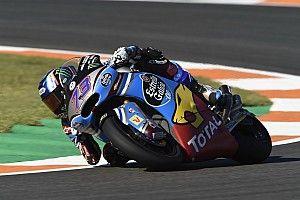 Marquez precede Morbidelli e Pasini e centra la pole a Valencia