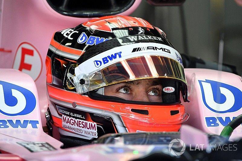جورج راسل جاهز للمشاركة في الفورمولا واحد الموسم المقبل