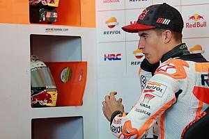 MotoGP Reactions Kembali terjatuh di kualifikasi, Marquez marah