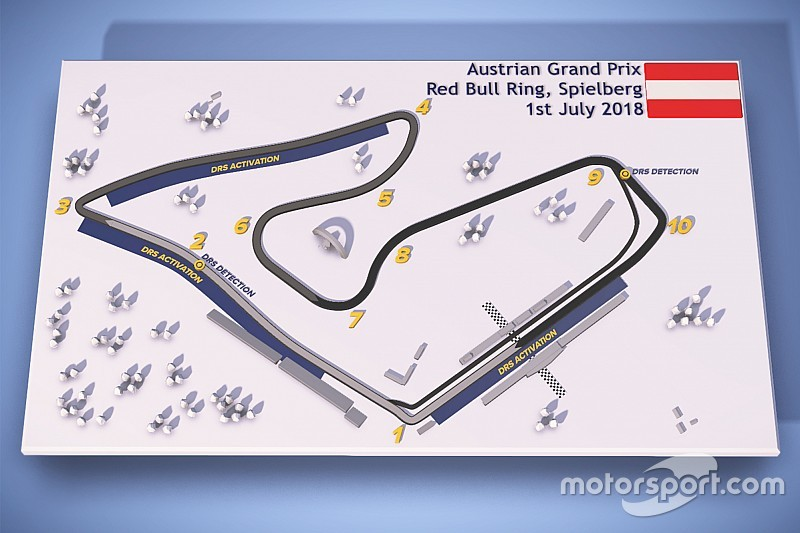 Third DRS zone added for Austrian GP