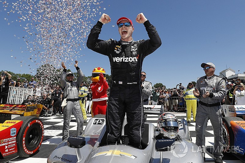 Road America IndyCar: Newgarden wins, Power and Rossi hit trouble