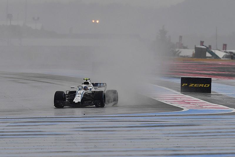 フランスFP3:雨に見舞われたポールリカール。首位ボッタスもわずか3周