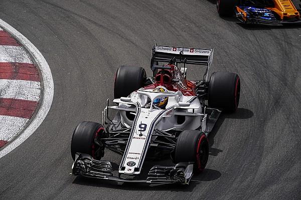 Fórmula 1 Últimas notícias Sauber: 2019 é melhor momento para mudar aerodinâmica