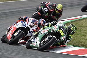 MotoGP Réactions Crutchlow satisfait de sa quatrième place