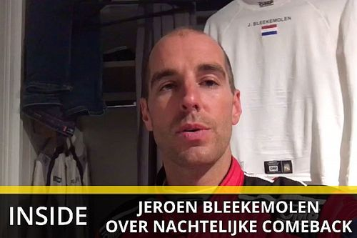 """Heftige nacht voor Jeroen Bleekemolen: """"Paar keer vol eraf gereden door een LMP2"""""""