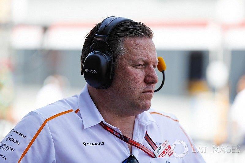 Zack Brown acepta que McLaren todavía está lejos de Red Bull
