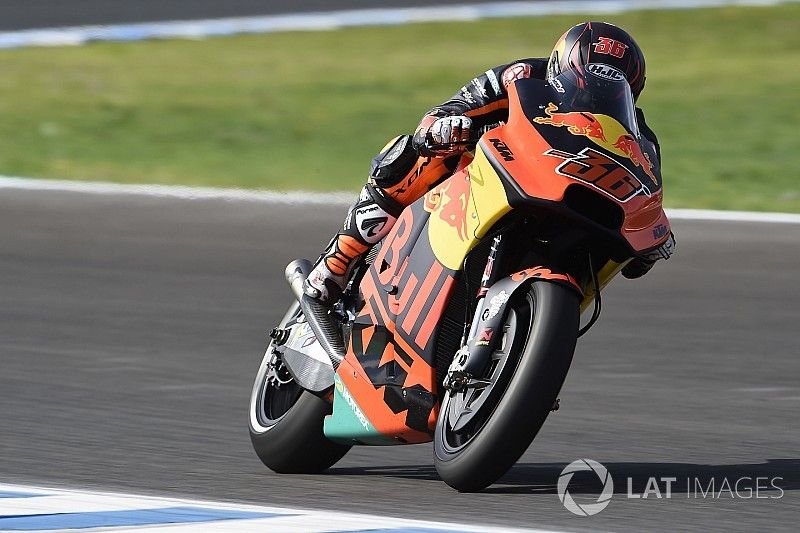 KTM rüstet sich für 2019: Kallio fährt Prototypen in Jerez