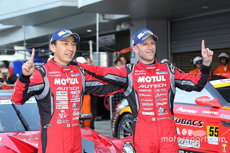 MOTUL AUTECH GT-Rがピットストップで逆転! 今季初優勝を飾る