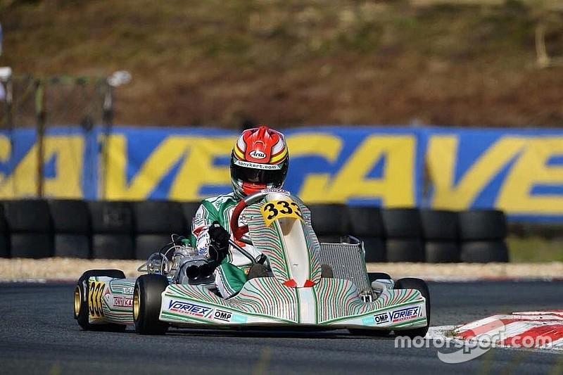 El debut de Vidales en el europeo de KZ2 se salda con abandono
