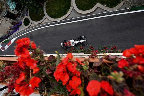 Diaporama : l'Alfa Romeo Sauber dans le Grand Prix d'Azerbaïdjan