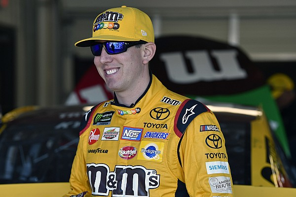NASCAR Cup Breaking news Points leader Kyle Busch: Kevin Harvick has the edge
