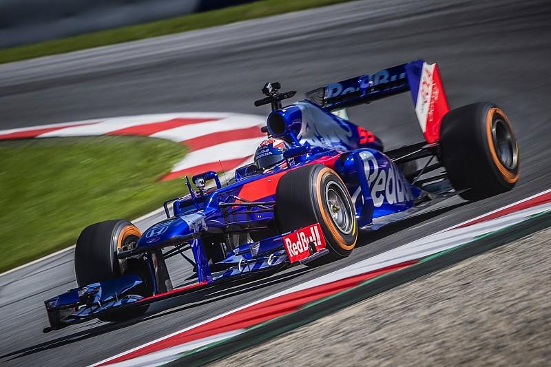 Fotogallery: ecco Marquez che prova la Toro Rosso di F1 al Red Bull Ring