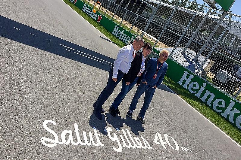 Jacques Villeneuve, babasının 1978 Ferrari'siyle sürücülerin geçit töreninde bulunacak