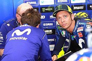 Rossi cree que aún no es lo suficiente rápido para pelear el campeonato