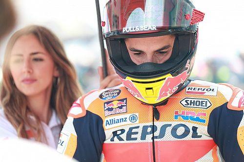 """Marquez: """"E' curioso festeggiare di più la mia caduta che una vittoria"""""""