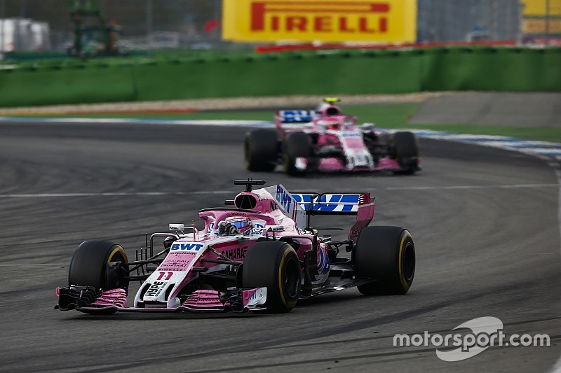 Force India перешла под внешнее управление. Перес подал на команду в суд